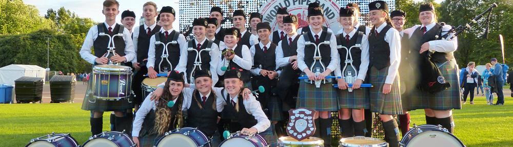 Davidson's Mains & District Pipe Band